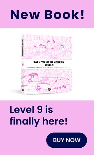 talktomeinkorean level9 book published.